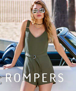 Shop Rompers and Jumpsuits for Women.