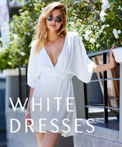 Shop White Dresses.