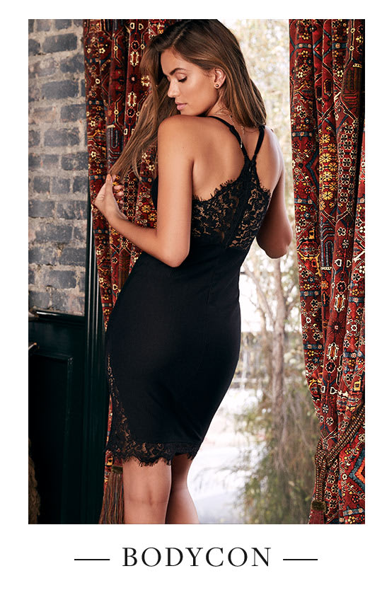 Shop Sexy Bodycon Dresses.