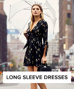 Shop Long Sleeve Dresses for Women.