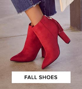 Shop Fall Shoes for Women.