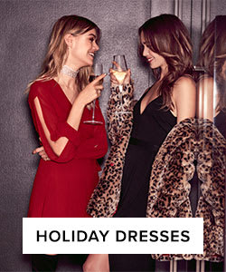 Shop Holiday Dresses.