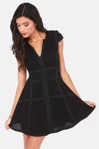 In Good Company Black Dress at Lulus.com!