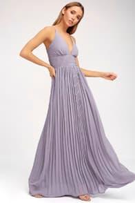 Depths of My Love Light Purple Maxi Dress at Lulus.com!