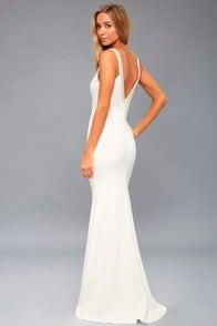 Celena White Beaded Maxi Dress at Lulus.com!