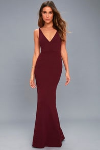Melora Plum Purple Sleeveless Maxi Dress at Lulus.com!