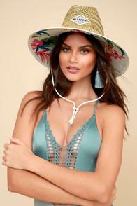 Tipton Natural Straw Lifeguard Hat at Lulus.com!