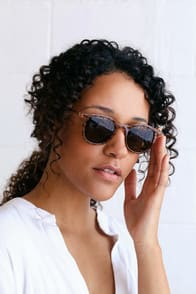 Inline Tortoise Sunglasses at Lulus.com!