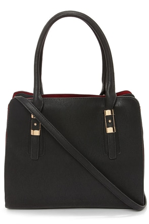 Dash of Demure Black Tote