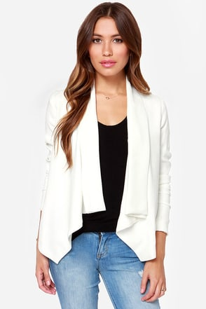 BB Dakota Bertilla Ivory Blazer