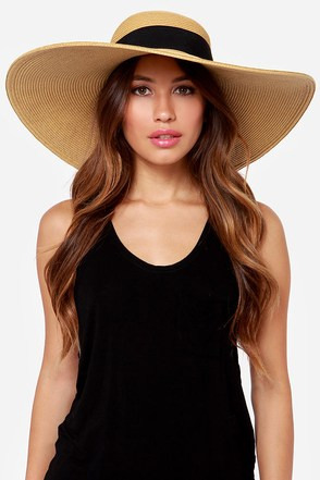 San Diego Hat Co. Cabana Beige Straw Hat