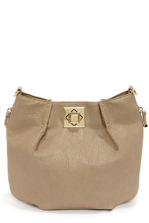 Big Buddha Loraine Taupe Purse