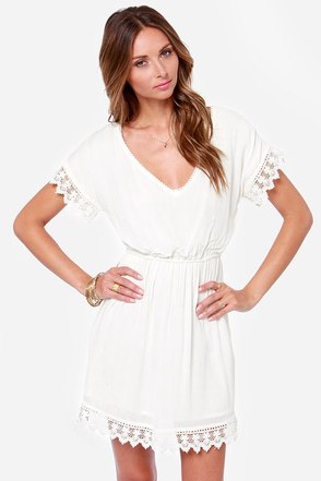 O'Neill Sea Breeze Ivory Lace Dress