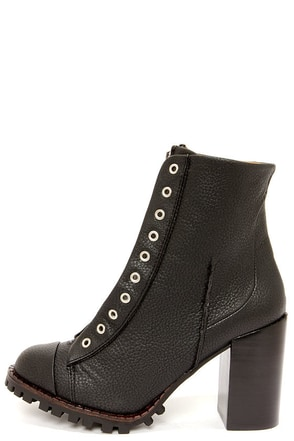 Report Signature Alexea Black High Heel Ankle Boots