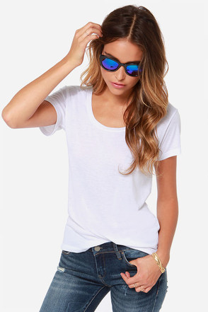 Billabong Essential Boyfriend White Tee