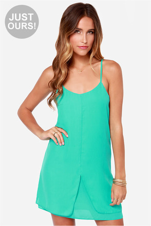LULUS Exclusive Destined for Greatness Sea Green Dress