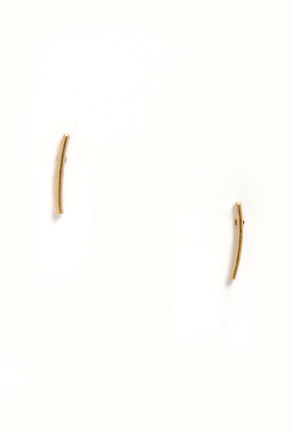 Sticking To It Gold Earrings at Lulus.com!