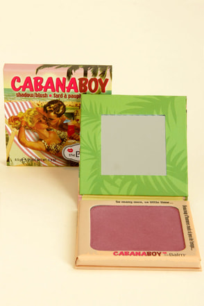 The Balm Cabana Boy Dusty Rose Shadow Blush at Lulus.com!