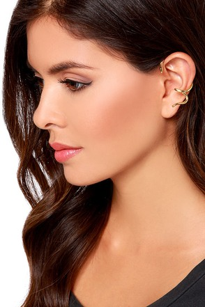 Have You Heard? Gold Ear Cuff