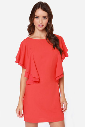 Sweet Samba Coral Red Dress