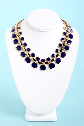 Collar Me Crazy Blue Necklace