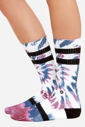 Stance Freedom Fire Tie-Dye Socks