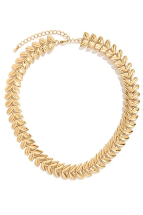 Gar-land of Glam Gold Necklace
