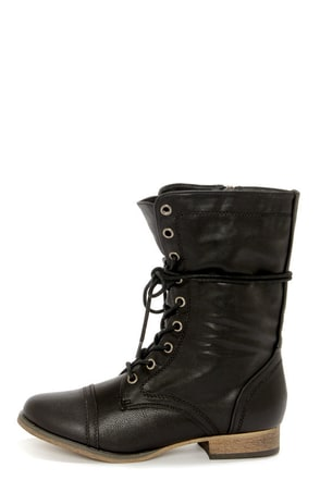 Lastest Cute Black Combat Boots Women Cute Black Combat Boots On The Hunt