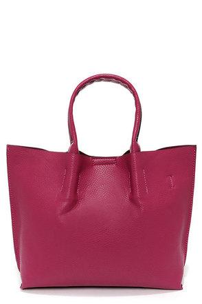 Berry Blast Fuchsia Handbag
