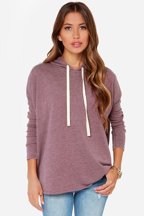 The Converse Heather Burgundy Sweater