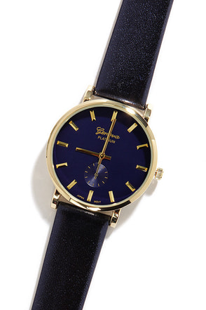 Midnight Hour Navy Blue Watch