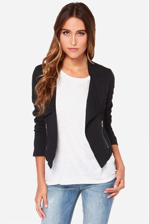 Jack by BB Dakota Coyle Black Jacket at Lulus.com!