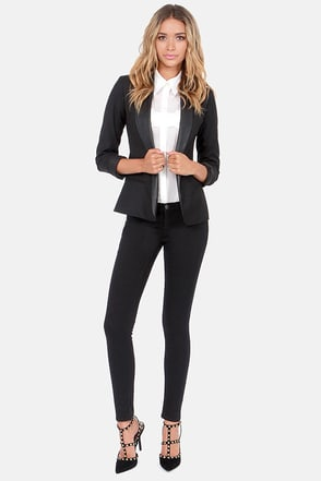 Dittos Wendy Black Skinny Jeggings