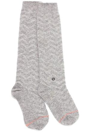 Stance Mount Blue Grey Chevron Socks