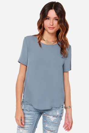 Road to You Neon Coral Top at Lulus.com!