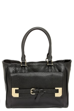 Big Buddha Colby Black Handbag