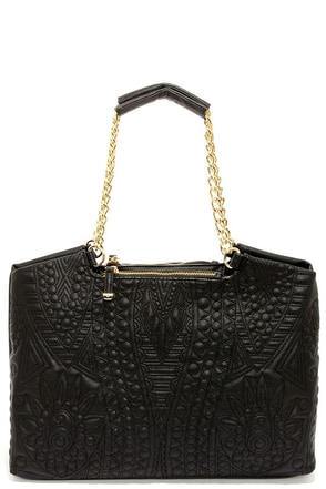 Big Buddha Jodi Black Handbag
