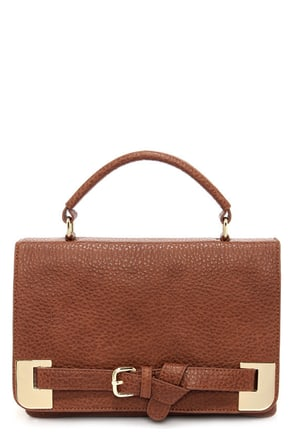 Big Buddha Corbin Brown Satchel