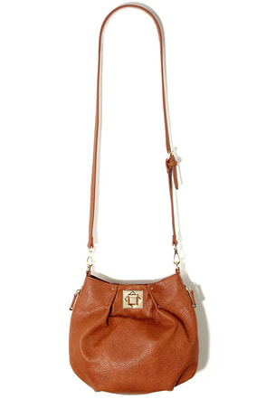 Big Buddha Loraine Cognac Purse