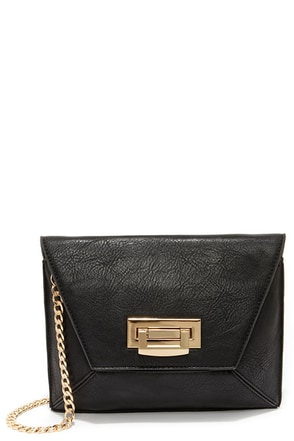 Prism A Moment Black Clutch