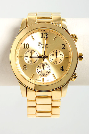 All In the Wrist Yellow Gold Watch