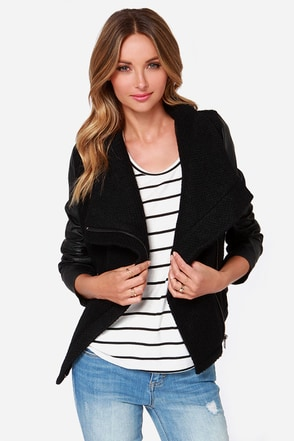By the Boucle Black Jacket at Lulus.com!