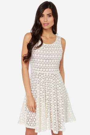 Others Follow Waltz Sleeveless Ivory Dress at Lulus.com!