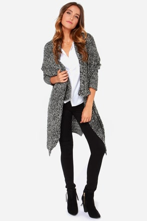 Roomy and Michele Grey Oversized Sweater at Lulus.com!