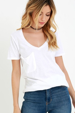 Pleasant Surprise Ivory Tee at Lulus.com!