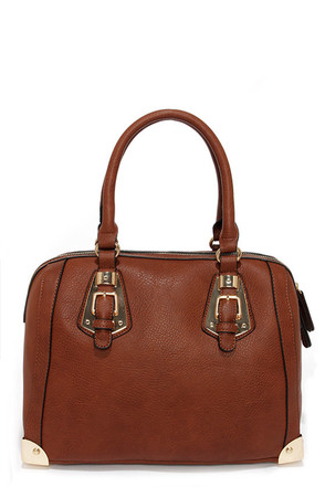 Split to Spare Brown Handbag