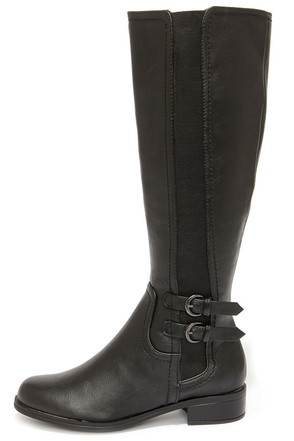 Easy Strider Dark Brown Riding Boots at Lulus.com!