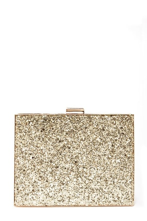 Secrets of the Gliteratti Gold Clutch