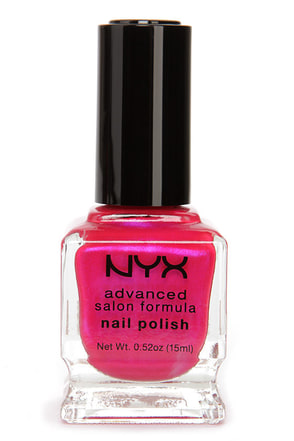 NYX Advanced Salon Formula Fire Red Nail Polish at Lulus.com!