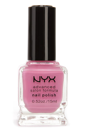 NYX Advanced Salon Formula Mauve Nail Polish at Lulus.com!